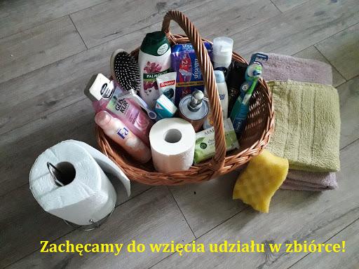 """Pomagamy pacjentom """"covidowym"""" szpitala w Mrągowie."""